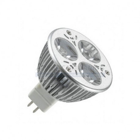 Ampoule LED 12V MR16 9 watts (blanc chaud)