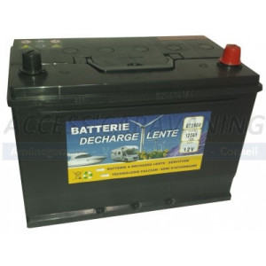 Batterie acide 120 AH - 12...