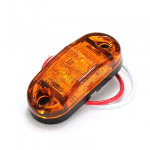 Feu gabarit orange 2 leds -...